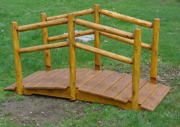 6′ Arched Bridge with Double Rail