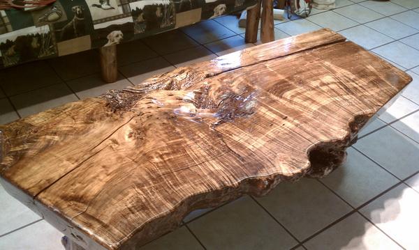Boxed Elder Table