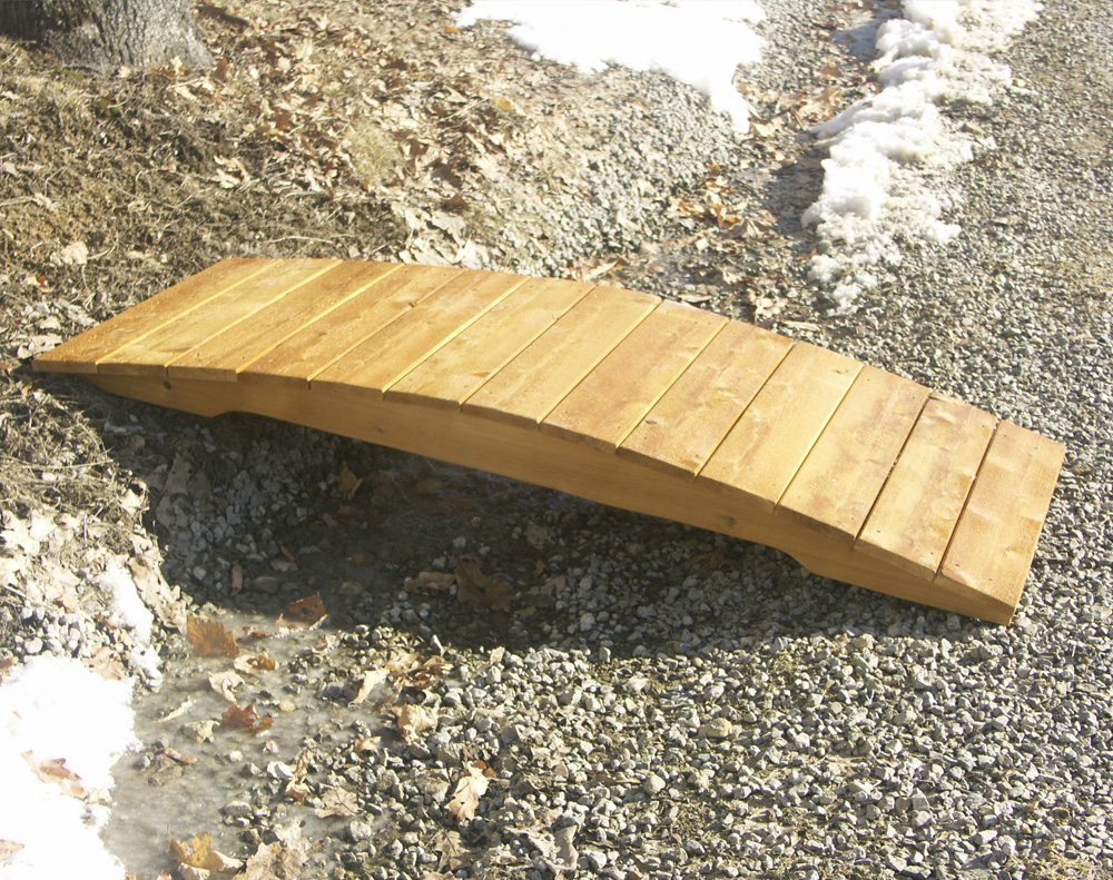 6′ Plank Butternut Bridge