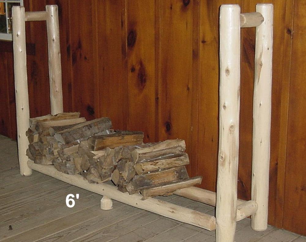 6′ Firewood Rack