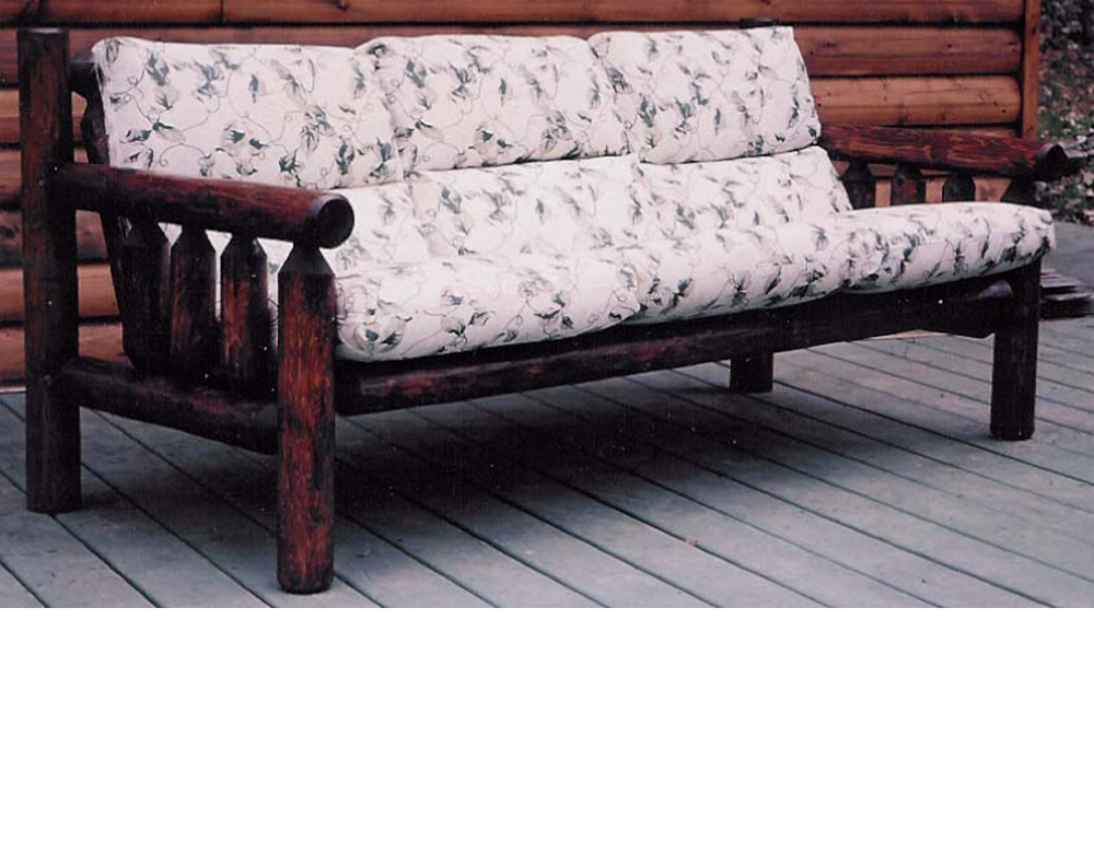 Patio Log Sofa